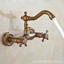 maifeini _ Wasserhahn Antik Antik Waschbecken Armatur Bad Wandtattoo zu Wandmontage