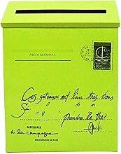 Mail Box Briefkasten Edelstahl, verschließbare