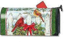 Mailbox Cover Winter Splendor