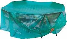 maillesac jp0013Schutzhülle für Gartenmöbeln Kunststoff grün transparent, Vert Translucide, Taille 1