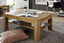 Main Möbel Couchtisch Holz massiv Eiche 120x80cm