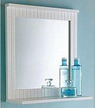 Maine Badezimmer-Spiegel, Holz-Rahmen, zur