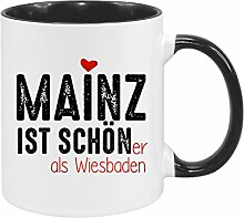 Mainz ist schöner als Wiesbaden - hochwertiger