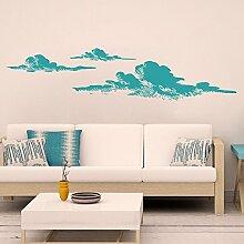 """mairgwall Kinderzimmer Wandtattoo Aufkleber Wolken Wand Aufkleber Wetter Art Aufkleber, Vinyl, Custom, 25""""""""h x112""""""""w"""