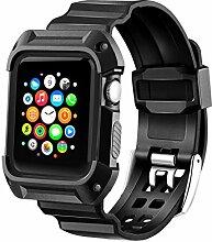 MAIRUI Apple Watch Band mit Fall, iWatch Sport