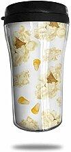 Mais-Popcorn-Reise-Kaffeetasse druckte tragbaren