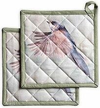 Maison d' Hermine Flying Birds 100% Baumwolle