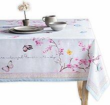 Maison d 'Hermine Tischdecke mit Blüten im