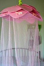 Maison en France Betthimmel rosa