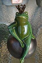 Maison en France Gartenstecker Frosch - Sehr