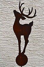 Maison en France Gartenstecker Hirsch groß-sehr