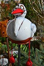 Maison en France Gartenstecker Storch mit
