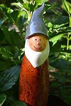 Maison en France Zaunhocker Zwerg-Lustiger Stabiler Zaungucker Gartenzwerg -Schöne Verarbeitung-Gartenzaungucker -aus Polystein - für Haus und Garten,