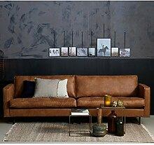 Maison ESTO 3 Sitzer Sofa Rodeo Classic Echtleder