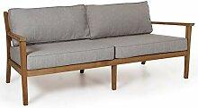 Maison ESTO Lounge Gartenbank 2,5 Sitzer 196 cm