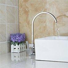 Maitps Waschbecken Waschtischarmaturen Küche Waschbecken mit warmen und kaltem Wasser Tank hoch