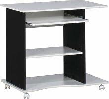 MAJA-Möbel 4024 3537 Computertisch, weiß uni -