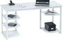 MAJA Möbel 9552 Schreib- und Computertisch Metall