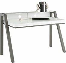MAJA Möbel Schreib- und Computertisch, Glas,