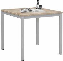 MAJA Möbel System Besprechungstisch, Metall,
