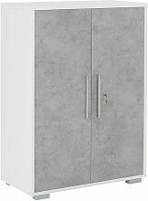 Maja Möbel System Büroschrank 80x40x109,7cm