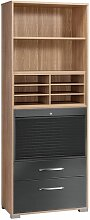 Maja Möbel System Büroschrank 80x40x214,4cm