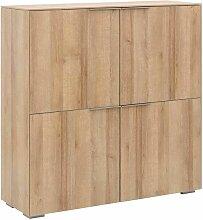 Maja Möbel Yolo Büroschrank 112,6x37,2x114cm