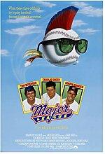Major League Klassische Filmplakate Leinwand