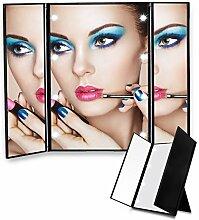 Make up Spiegel Edota mit 8 LED Beleuchtung