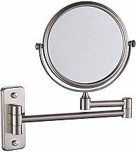 Make-up-Spiegel Kosmetikspiegel Nickel gebürste