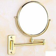 Make-up-spiegel/ kupfer-beauty-spiegel/wand-einbau-teleskop-spiegel-A