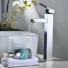 Makej Höhere Waschbecken Mischbatterie Mit Kaltem