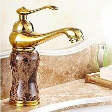 Makej Luxus Marmor Goldenen Wasserhahn Kaffee