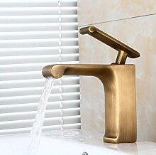 Makej Solide Neue Style Schwarz Bronze Bad Armatur Luxus Schwarz Lackiert Messing Heiße Und Kalte Waschbecken Tippen Braun