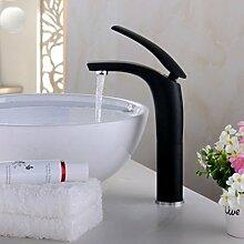 Makej Waschbecken Wasserhahn Rot Schwarz