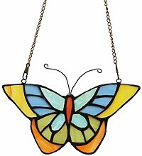 makenier Tiffany-Stil gebeizt Glas Schmetterling