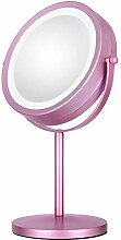 Makeup mirror Runder Drehspiegel für