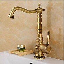 Makeyong Antik Messing Waschbecken Wasserhahn Bad
