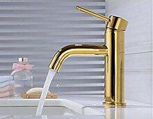 Makeyong Einhand-Waschbecken Wasserhahn Kalt Und