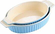 MALACASA, Serie Bake.Bake, 2er Set Porzellan