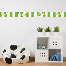malango® - Fußball-Bordüre grün weiß