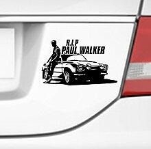 malango® Aufkleber RIP Paul Walker Schauspieler