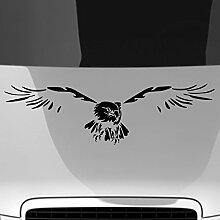 malango® Autoaufkleber Adler auf Motorhaube