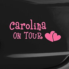 malango® Autoaufkleber Baby on tour mit