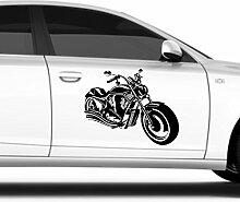 malango® Autoaufkleber - Motorrad Auto Aufkleber