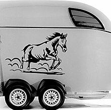 malango® Autoaufkleber Pferd Sport Reiten