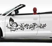 malango® Autoaufkleber Schmetterlingszauber 2 im