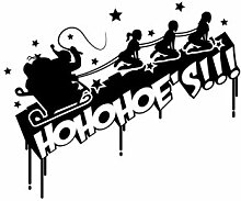 malango® Shocker HoHoHoe´s Sticker Aufkleber