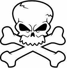 malango® Skulls 3 Totenkopf Shocker Knochen