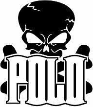 malango® Skulls Polo 2 Totenkopf Shocker Knochen